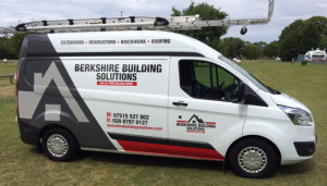 Berkshire Building Solutions Van